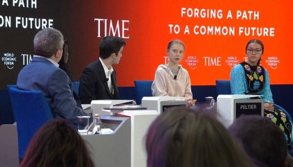 WEF di Davos: parla Greta, arriva Trump