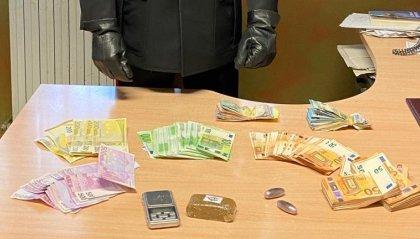 Cattolica: negoziante sorpreso con 120 grammi di hashish e 35.000 euro