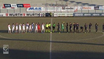 Serie C Girone B: vola il Sud Tirol, battuta la Vis Pesaro 2-0