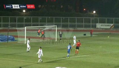 Serie C Girone B: il derby salvezza all'Imolese. Rimini caduta libera