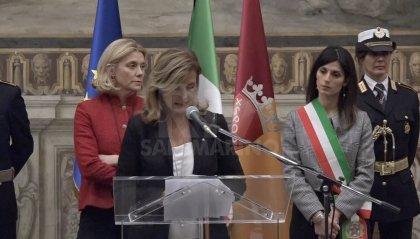 """L'ambasciatrice Rsm in Campidoglio: """"Soluzioni per promuovere pace e sviluppo sostenibile"""""""