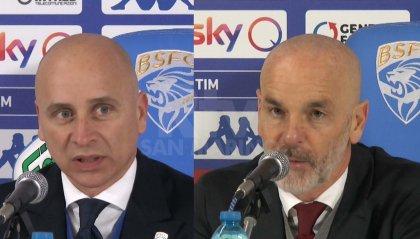 Serie A, Brescia - Milan 0-1. Le parole di Corini e Pioli