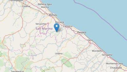 Terremoto a Montefiore Conca: avvertito anche sul Titano