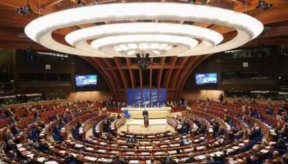 I consiglieri Nicolini, Morganti e Giovagnoli Assemblea Parlamentare del COE