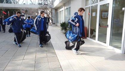 La Nazionale a Varna e già domani sfida l'Albania