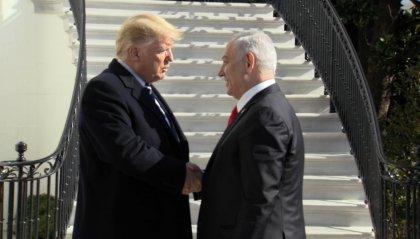 MO: Trump presenta piano di pace; 2 Stati, Gerusalemme Capitale indivisa di Israele