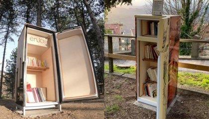 Installati due nuovi frigo book nei parchi di San Marino Città