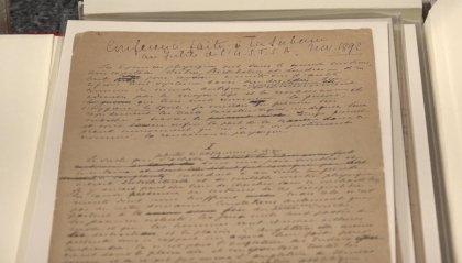 Donato al CIO il manoscritto di De Coubertin