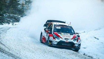 WRC, Rally di Svezia: Evans comanda, Tanak insegue