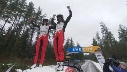 In Svezia vince Evans davanti a Tanak