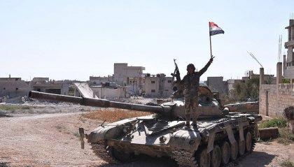 Siria: offensiva-lampo dei Governativi. Periferia di Aleppo interamente liberata