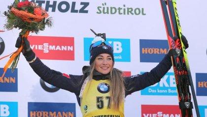 Biathlon: Dorothea Wierer è oro nell'individuale
