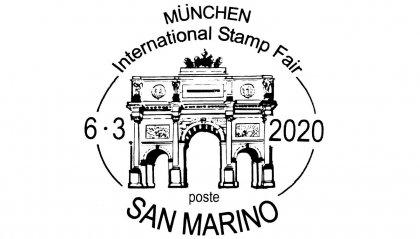 UFN: annullo speciale per Mostra filatelica internazionale di Monaco 2020