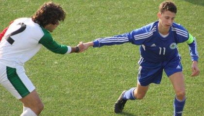 La Nazionale Sammarinese Under 15 sconfitta 4 a 0 dalla rappresentativa di Lega Pro