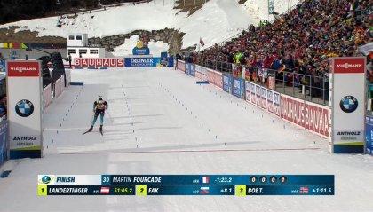 Il francese Fuorcade trionfa nella 20 km individuale