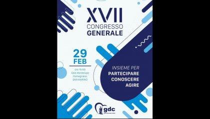 """GDC: """"Insieme per partecipare, conoscere, agire"""": conto alla rovescia per il Congresso dei Giovani Democratico Cristiani (il 29 febbraio alla sala Montelupo di Domagnano)"""