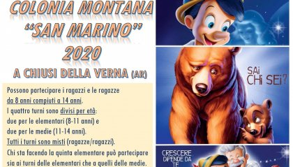 """Colonia Montana """"San Marino"""" 2020 a Chusi della Verna (AR)"""