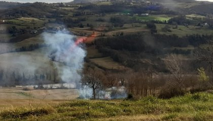 Carabinieri Forestali: una denuncia per incendio boschivo colposo a Novafeltria