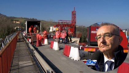 Il Ponte Verucchio riapre anticipatamente questo pomeriggio