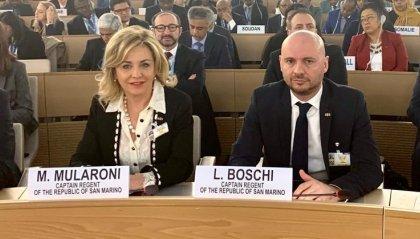 Diritti Umani: la Reggenza interviene alla 43° Conferenza Onu