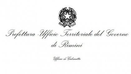 La Prefettura di Rimini sul cittadino ricoverato per il coronavirus