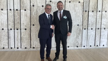 Fitta agenda di colloqui bilaterali per il Segretario di Stato agli Esteri Luca Beccari