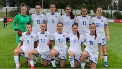 Chiara Beccari in Nazionale U17 in Portogallo