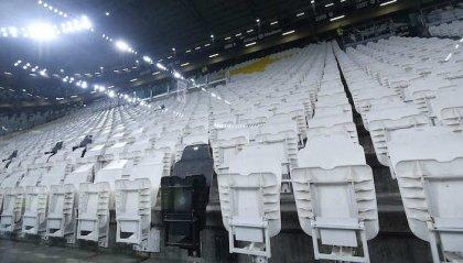 Rinviate Juventus - Inter e tutte le partite a porte chiuse