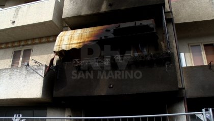 VIDEO | Incendio a Serravalle: evacuata palazzina, Antincendio e Vigili del fuoco sul posto