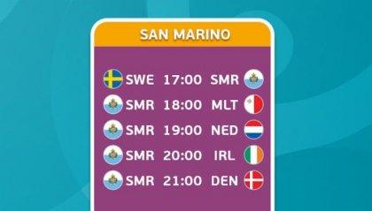 eEuro 2020: San Marino debutta questo pomeriggio in diretta streaming