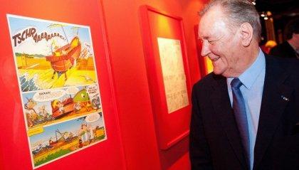 È morto Albert Uderzo, storico disegnatore di Asterix