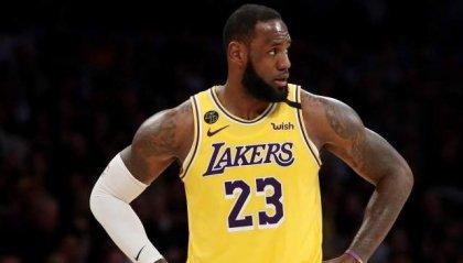 LeBron James parla dell'eventuale ripresa della stagione NBA