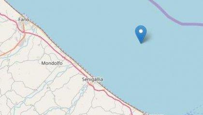 Terremoto di magnitudo 3.2 di fronte alla costa di Senigallia