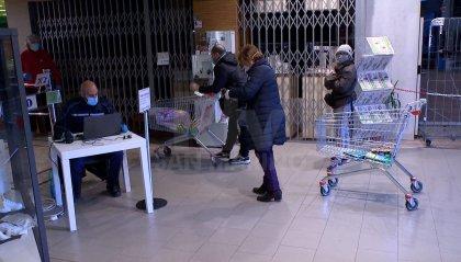 Polizia Civile: controlli nei supermercati per evitare assembramenti