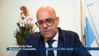 """Coronavirus a San Marino: un nuovo decesso; Ciavatta: """"Corpo sanitario si sottopone al test sierologico"""""""