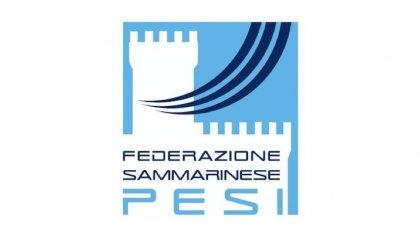 Dalla Federazione Sammarinese Pesi 1.000 euro per la Protezione Civile