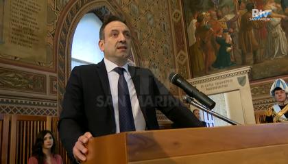 1° aprile: il discorso del Segretario agli esteri Luca Beccari