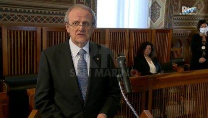 1° aprile: il discorso del Vice-Decano del Corpo Diplomatico, ambasciatore d'Italia Guido Cerboni