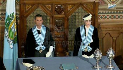 1° aprile: il discorso di insediamento dei Capitani Reggenti Alessandro Mancini e Grazia Zafferani