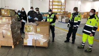 Requisite a Bologna migliaia di mascherine e dispositivi medici, già consegnati all'Agenzia di Protezione civile dell'Emilia-Romagna
