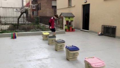 #iomiallenoacasa, il video della Titano Academy