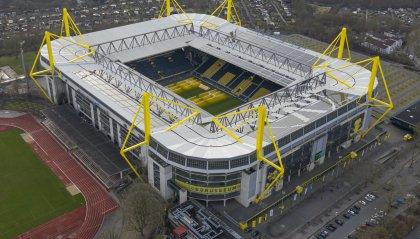 Il Westfalenstadion di Dortmund diventa un ospedale da campo