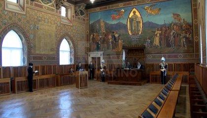 Presentate a Palazzo Pubblico 17 istanze d'Arengo, ma con modalità inedite e in un'Aula insolitamente vuota