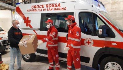 1500 mascherine da Croce Rossa e Cooperativa Montelupo