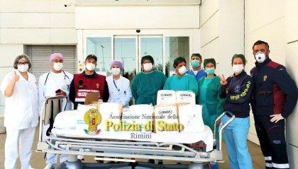 ANPS: Donazione dispositivi di protezione al personale dell'Ospedale di Rimini