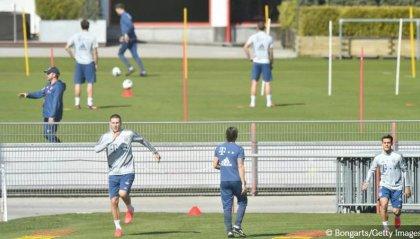 Il Bayern Monaco torna ad allenarsi