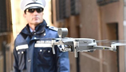 A Pasqua uso di droni anti scampagnata per controllare gli spostamenti delle persone