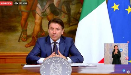 """Conte: """"Misure restrittive fino a 3 maggio, decisione necessaria"""""""