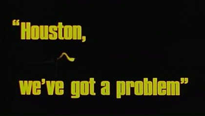 "50 anni fa: ""Okay, Houston, we've had a problem here"""