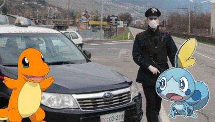 A Como un 31enne  beccato dai carabinieri in giro per un videogame